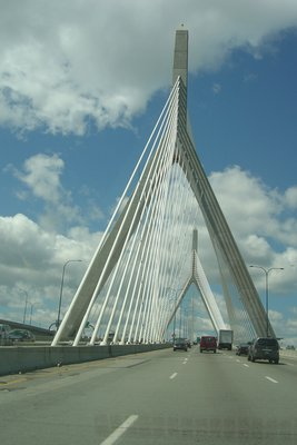 Boston's Zakim Bunker Hill Bridge