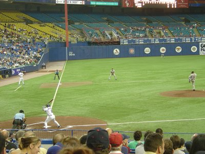 Montreal Expos vs. Houston Astros, Olympic Stadium, Montreal, Quebec