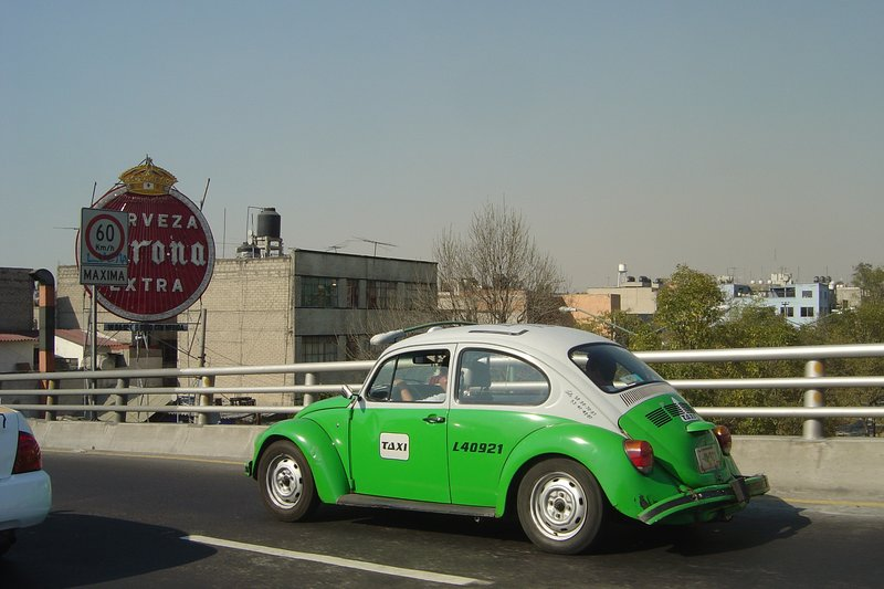 Taxi bug in Mexico City, by malmn