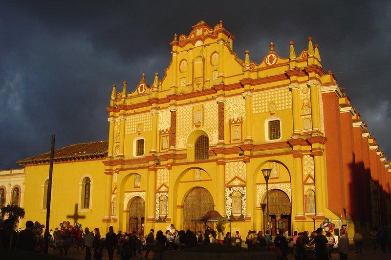 Cathedral, San Christobal de las Casas, Mexico