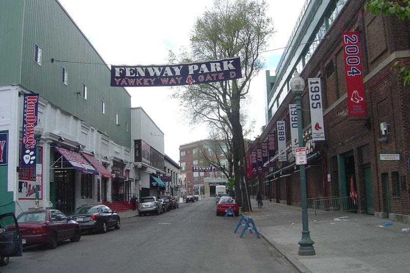 Yawkey Way - Fenway Park