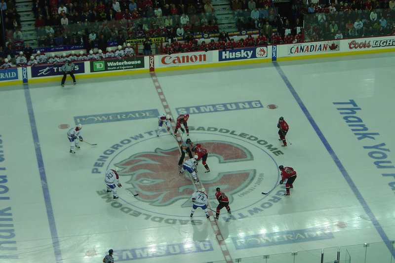 Calgary Flames vs. Montreal Canadiens @ Saddledome