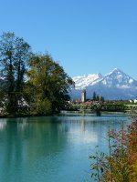 Walk along the river Interlaken