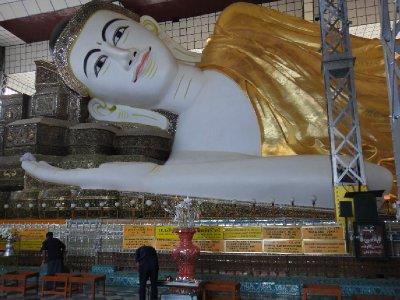 Shwethalyaung-Buddha Face