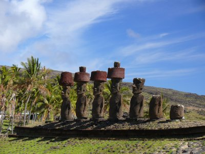 Easter Island06 - Moais