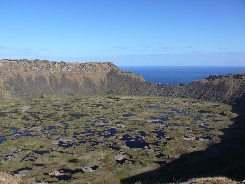 Easter Island09 - Volcano Rano Kao