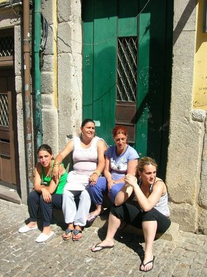 Portuguese ladies taking a break