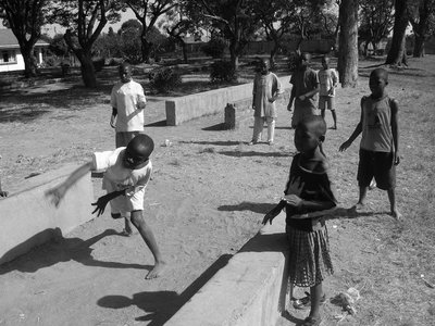Children playing in a Zimbabwean orphanage