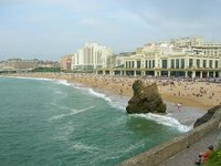Coast of Biarritz
