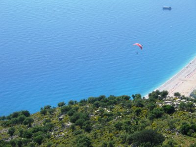Flying high in Ölüdeniz