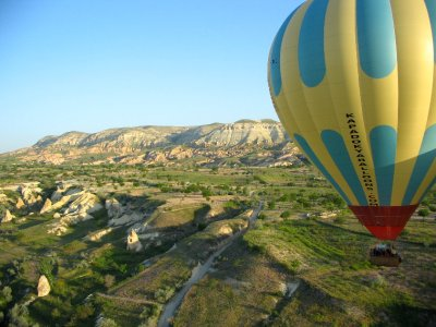 Balloon flight: flying high over Cappadocia