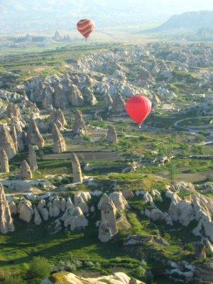 Balloon flight: Cappadocia