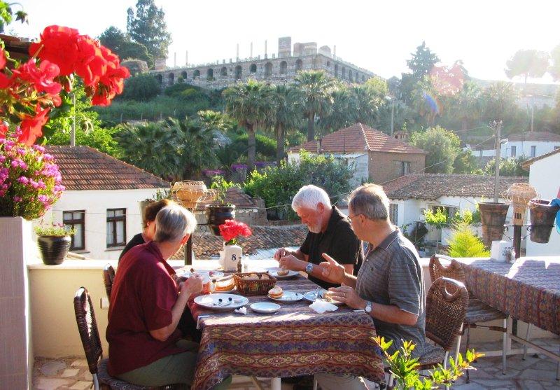 Breakfast in Selcuk