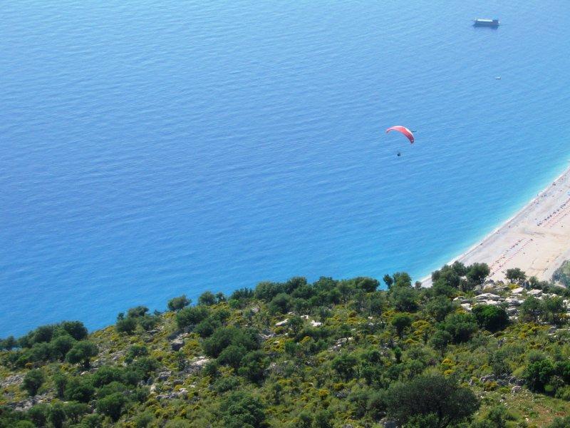 Flying high in Ölüdeniz