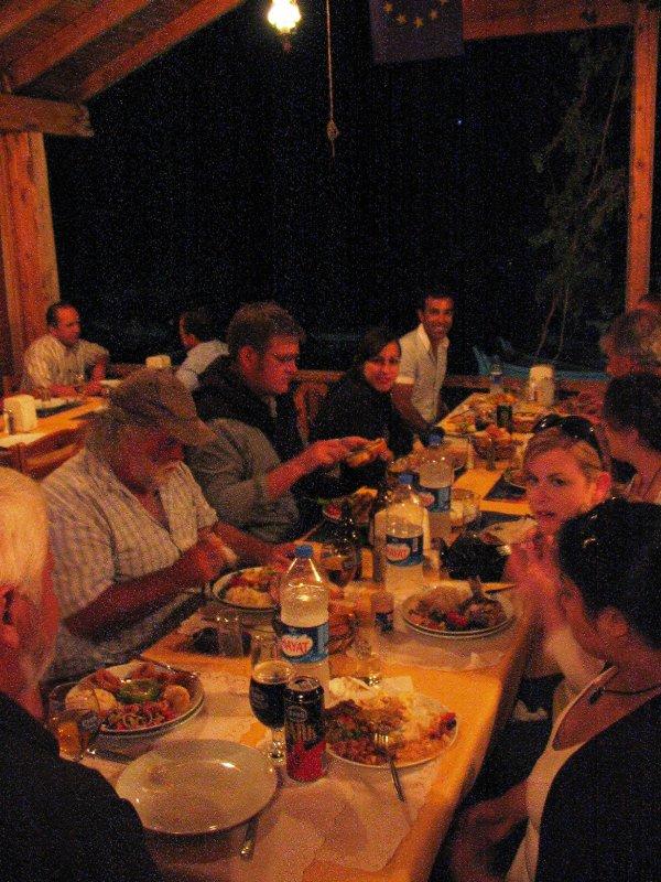Dinner in Ucagiz