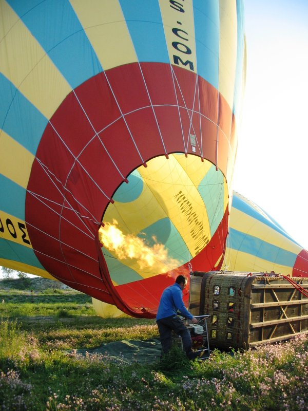 Balloon flight: almost there