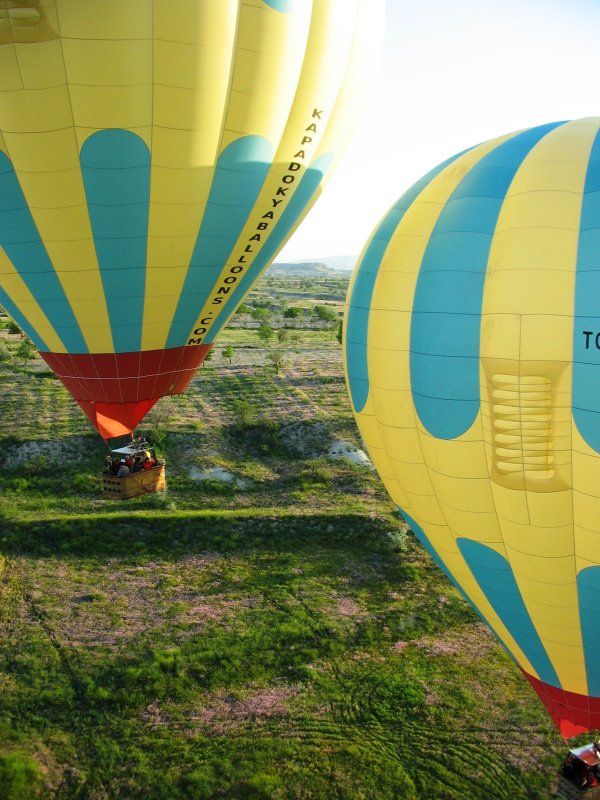 Balloon flight: Up, up and away!