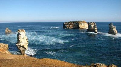 Er bygget opp og forma av havet de siste 10 20 mill åra