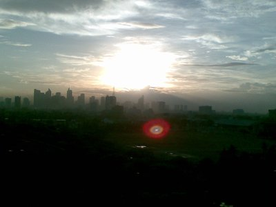 Sun Rise at Sofitel Philipine Plaza, Manila