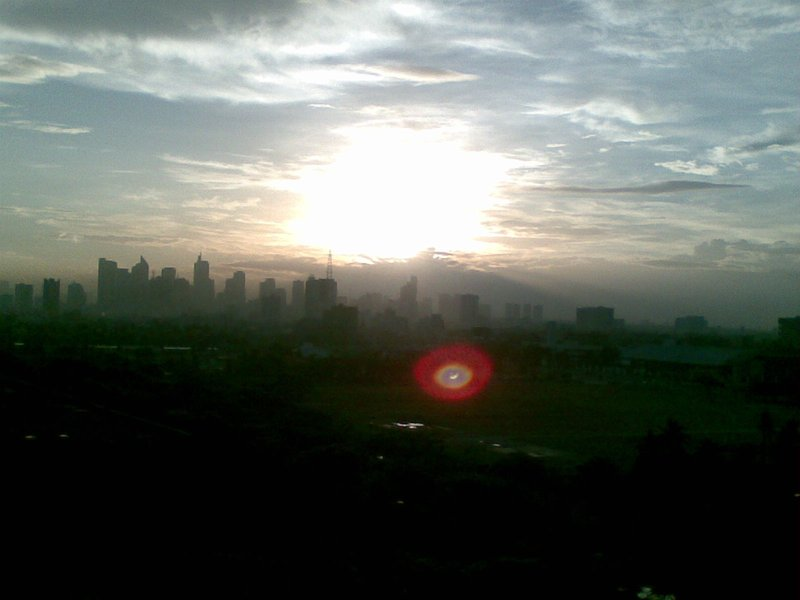 Sun Rise at Sofitel Philipine Plaza, Manila