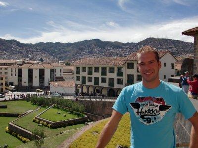 A rare sunny day in Cusco