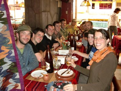 Celebrating the completion of the Inca Trail