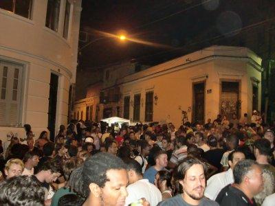 Crqzy night in Lapa