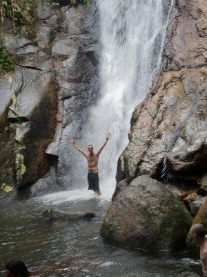 Waterfall Ilha Grande