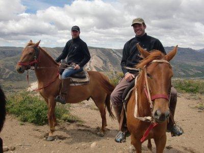 Riding in Bariloche