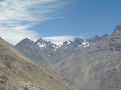 Through the Andes