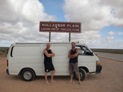 The start of the Nullarbor
