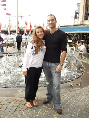 Me and Cecilia - Darling Harbour