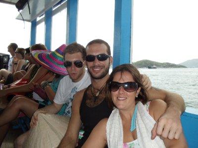 Boat trip in Nha Trang