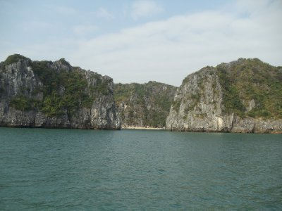 Chilling in Halong Bay