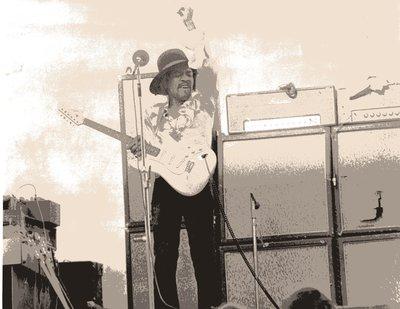 Jimi Hendrix in Miami
