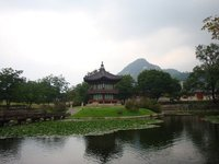 Korean Palace Vista--Seoul, South Korea