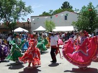 Dancers Mesilla, New Mexico, USA