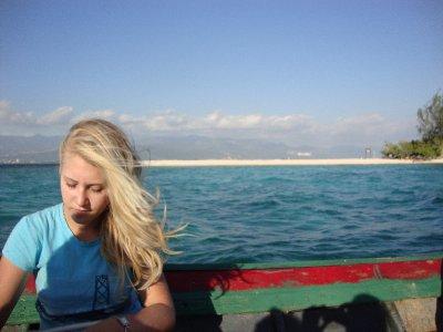 Enjoying the ride/sail