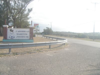 The entrance - Caribbean Maritime Institute
