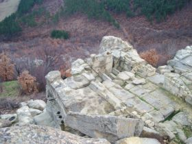 Thracian sanctuary - Perperikon, the rocky complex