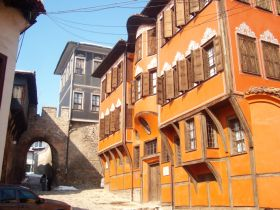 Old city of Plovdiv, Bulgaria