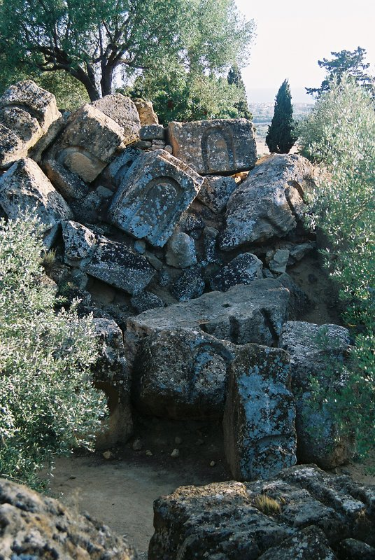 Ruins in Agrigento