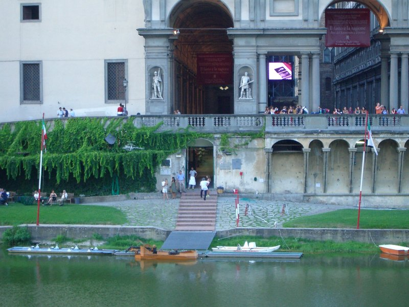 Boat club on the Arno