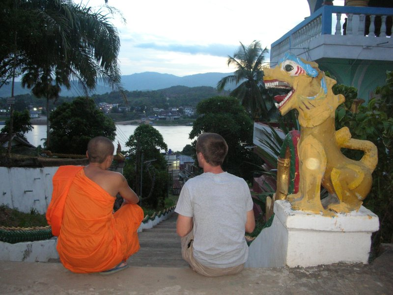 The Temple at Houaxai, Laos