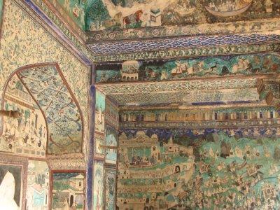 Bundi - palace mural