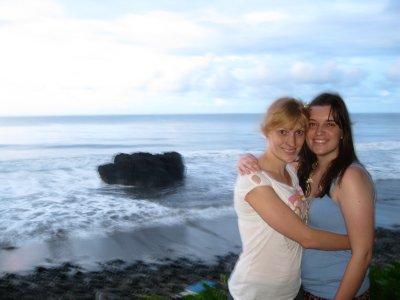 Beach in Tahiti