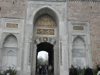 Topkapi Palace Gate 2