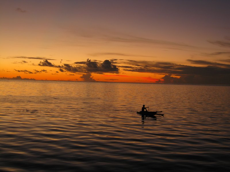 Sunset Moorea 1