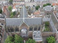 Looking down on the Domkerk