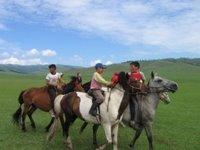 Horse trip in Khovsgol